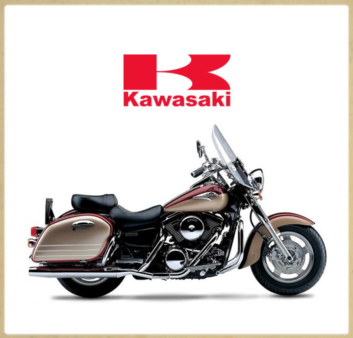 Для модельного ряда KAWASAKI